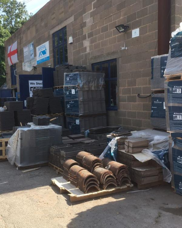 roofing merchants yard leicester