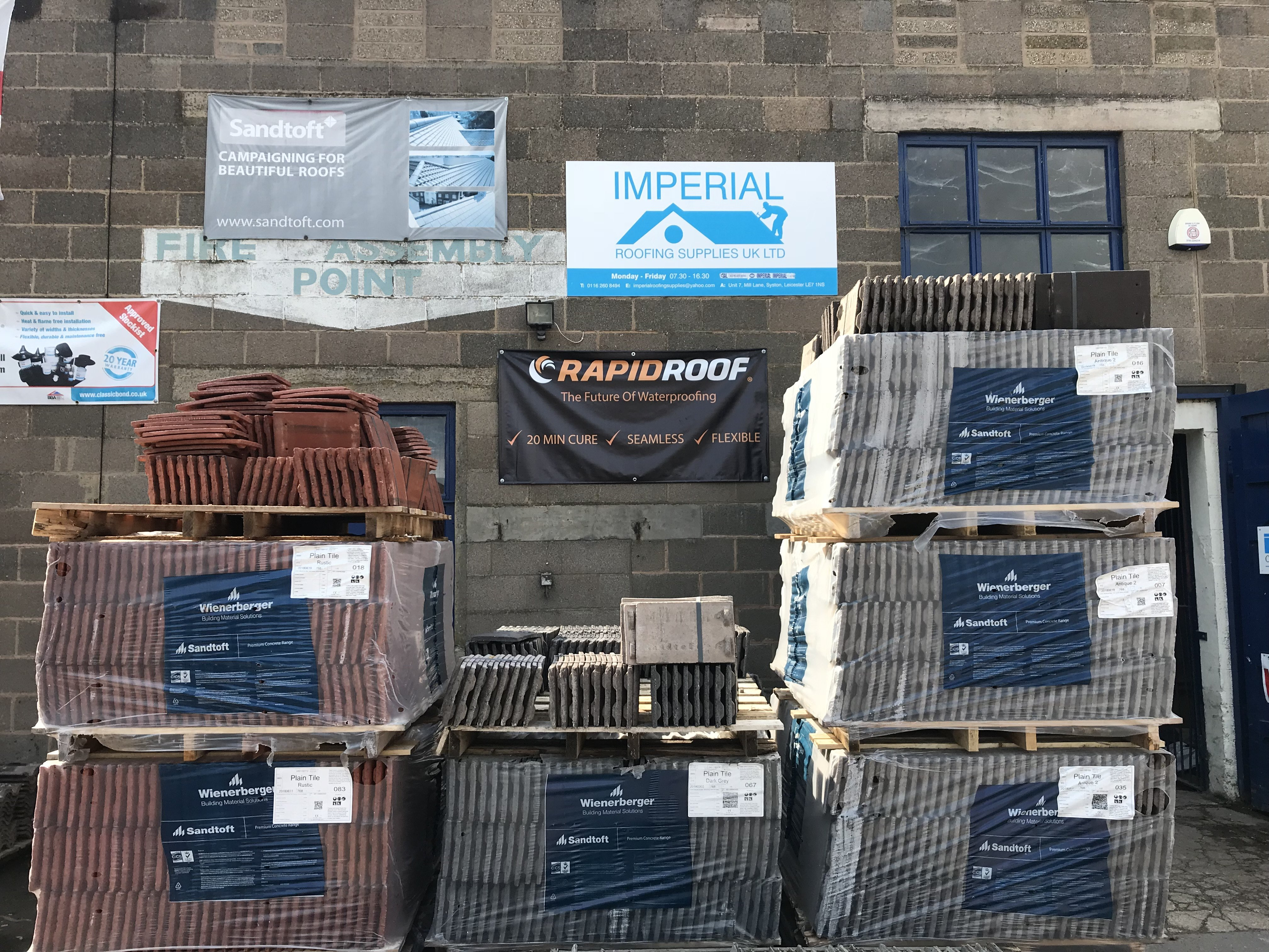 Roof Tiles And Slate Suppliers In Leicester Imperial Roofing Supplies Uk Ltd