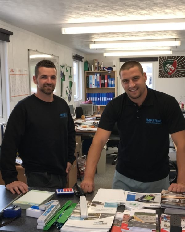 the imperial roofing supplies team